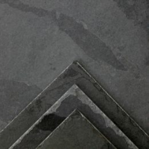 Black Chiselled Edge Slate