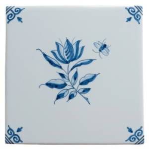Blue Flower 4