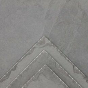Grey Chiselled Edge Slate