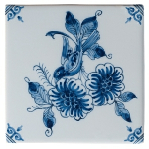 Large Blue Flower 3