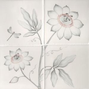 Passion Flower Panel